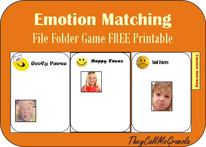 This is an image of Striking Printable File Folder Game