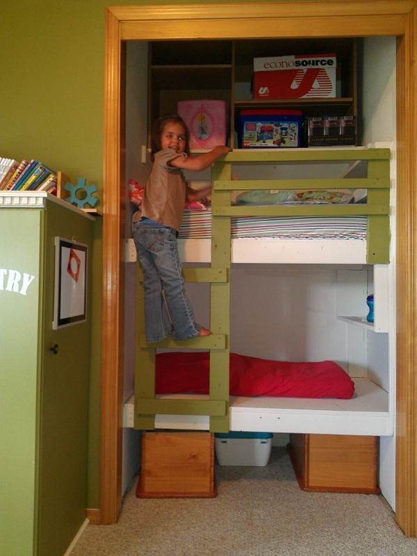 children bunk bed plans