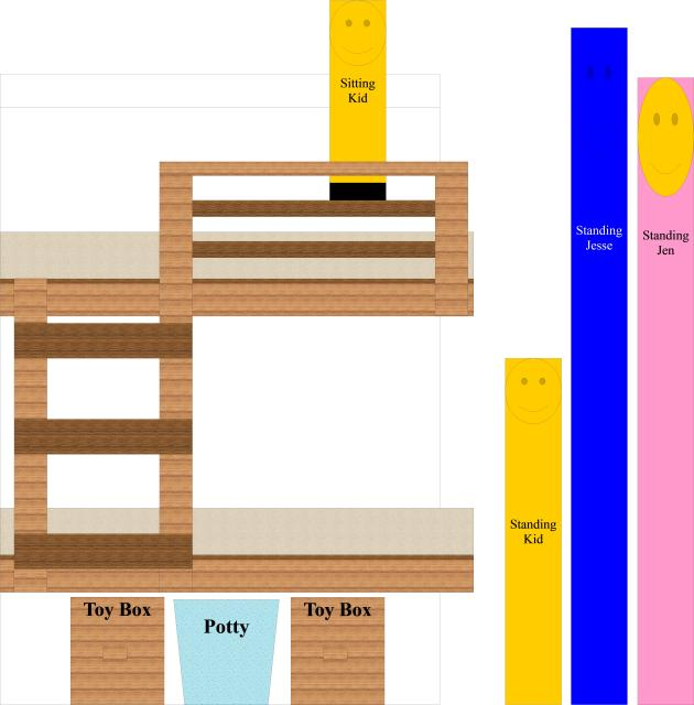 full size bunk bed diy