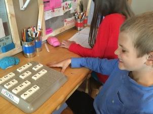 Spelling practice days.